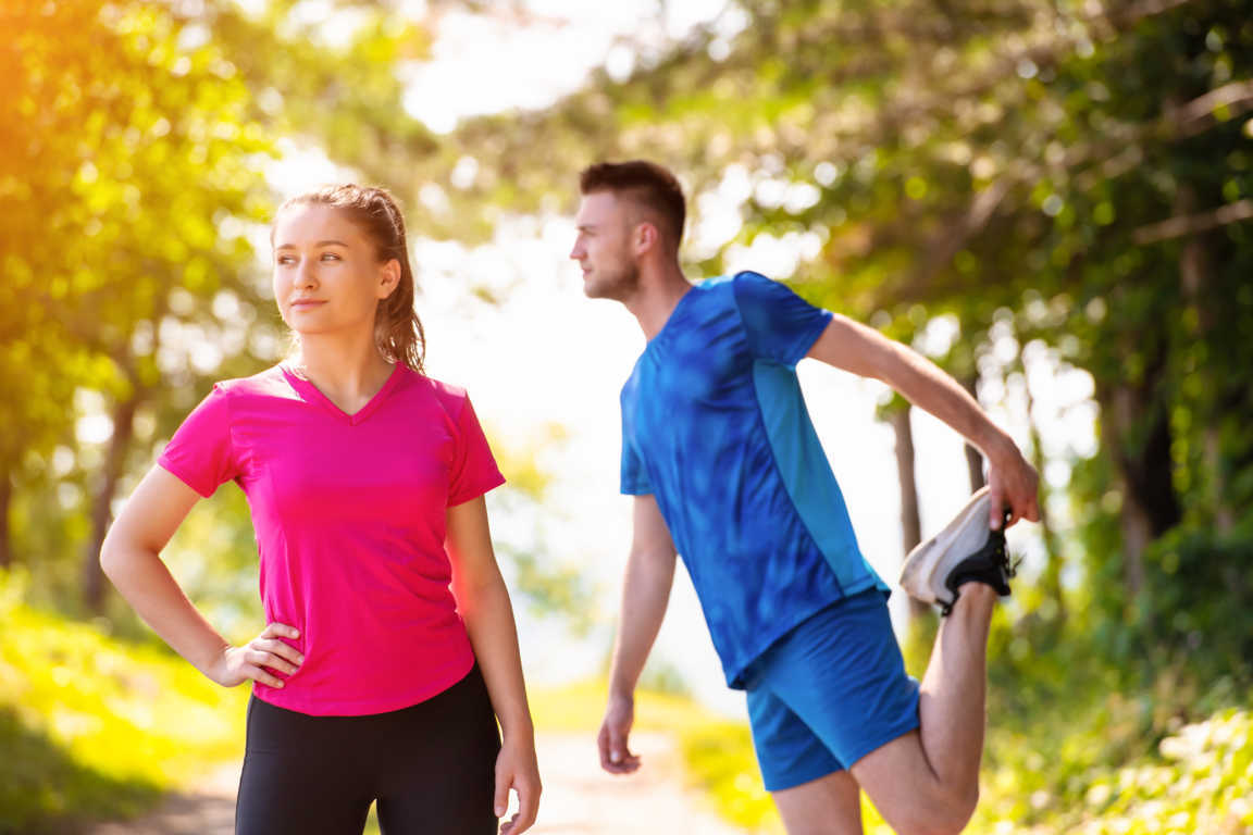 Si te duelen las rodillas, haz ejercicio físico